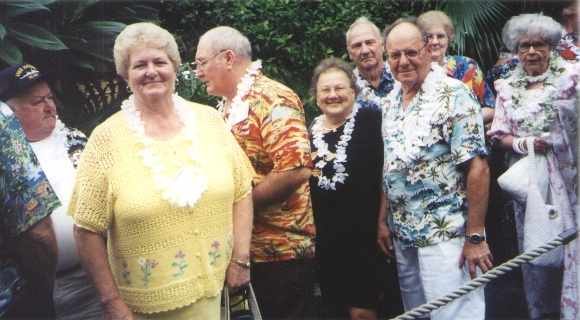 Photo - Luau lineup pic 2